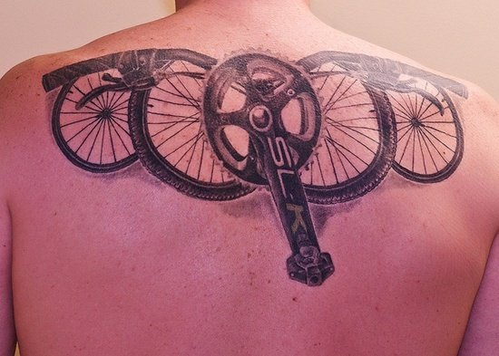bicycle tattoo (2)