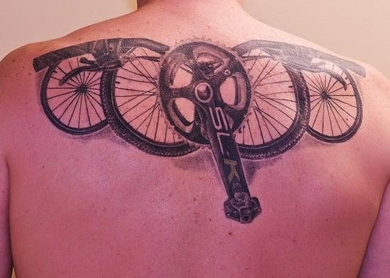 bicycle tattoo (2)