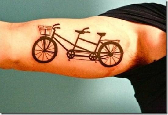 bicycle tattoo (20)