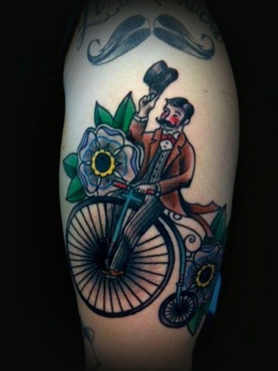 bicycle tattoo (28)