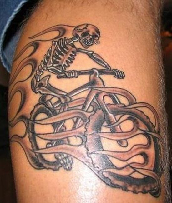 bicycle tattoo (4)