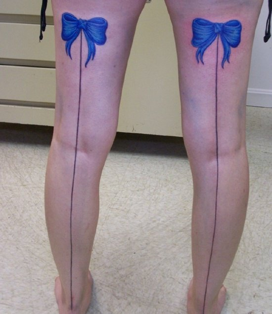 bow tattoo (20)