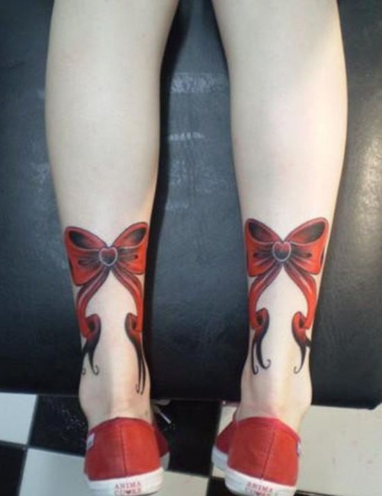 bow tattoo (27)
