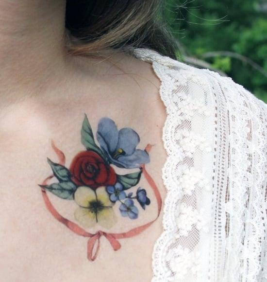 bow tattoo (31)
