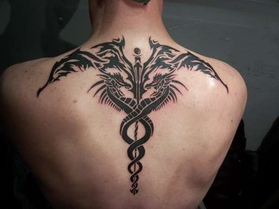 caduceus tattoo (19)