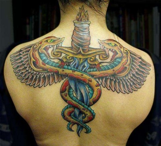 caduceus tattoo (28)