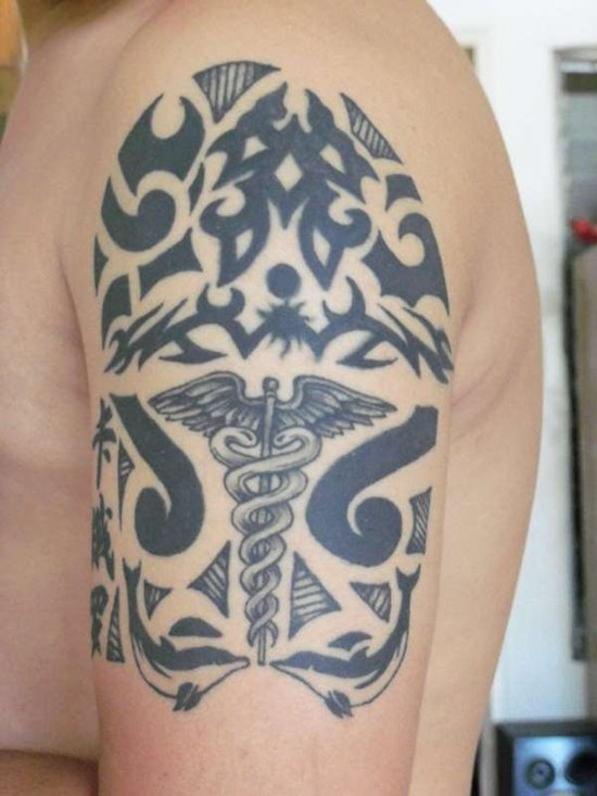 caduceus tattoo (29)