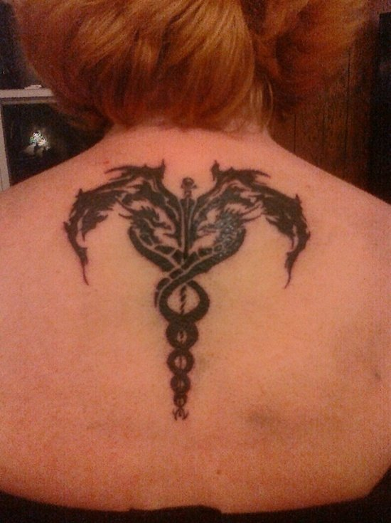caduceus tattoo (7)