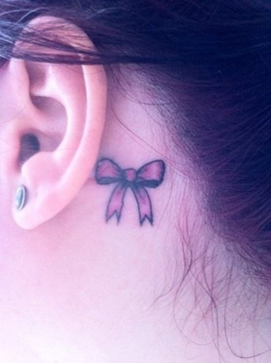 ear back tattoo (20)