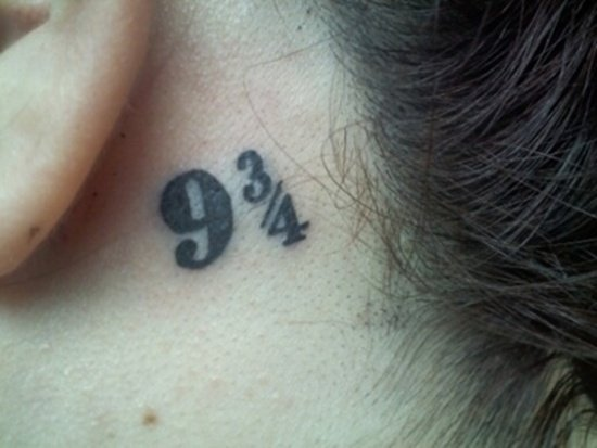 ear back tattoo (25)