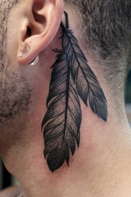 behind the ear tattoo 55 different suggestions. Black Bedroom Furniture Sets. Home Design Ideas
