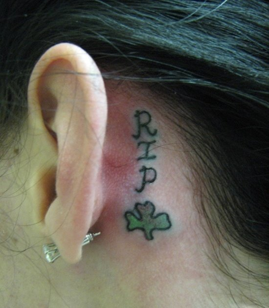 ear back tattoo (5)