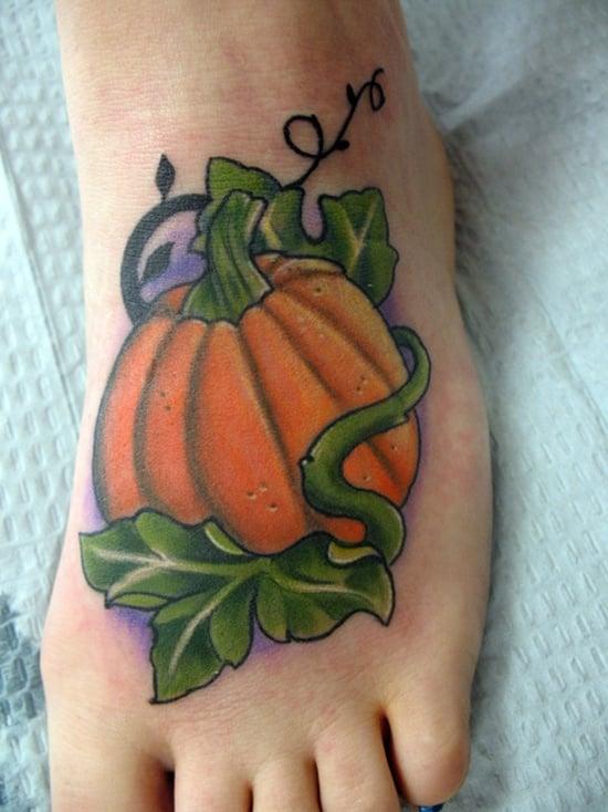 Evil Pumpkin Tattoo (11)