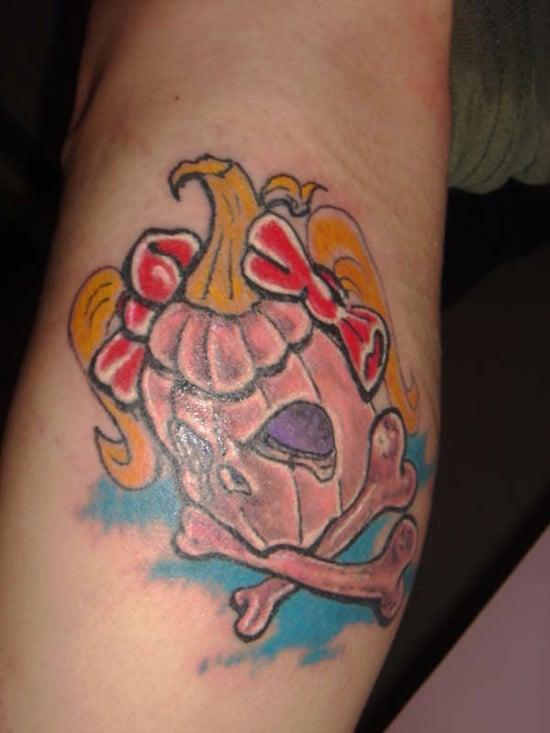 Evil Pumpkin Tattoo (20)