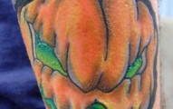 evil pumpkin tattoo (22)