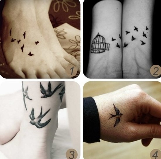 flock bird tattoo (1)