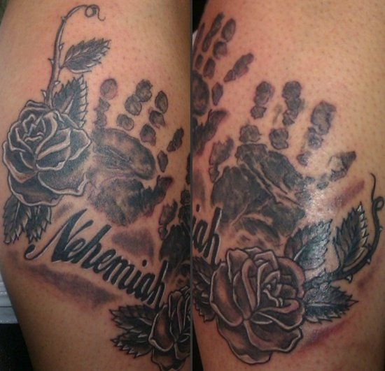 handprint tattoo (13)