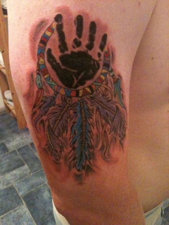 handprint tattoo (23)