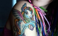 little pony tattoo (11)