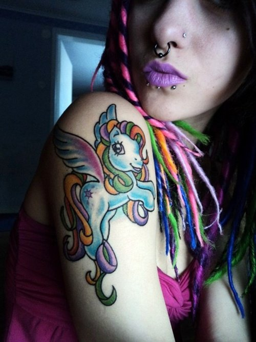 little pony tattoo (11)