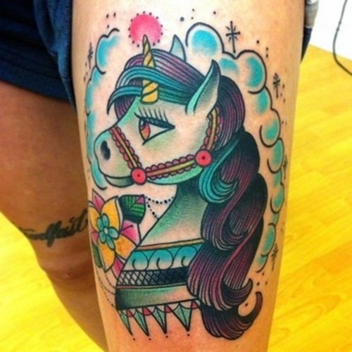 Little Pony Tattoo (29)