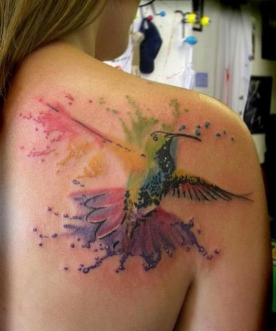 rain bow tattoo (10)