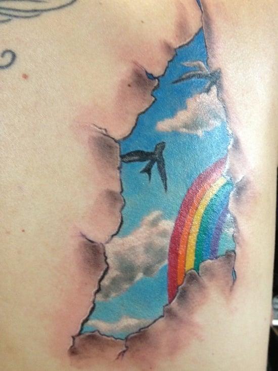 rain bow tattoo (12)