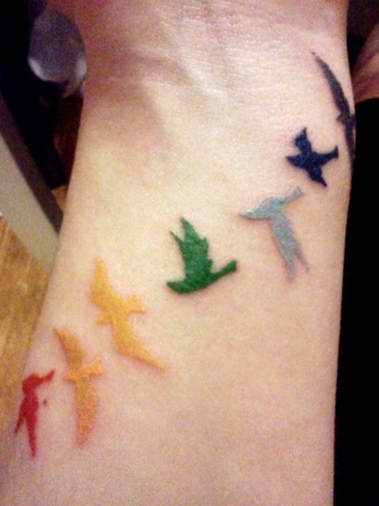 rain bow tattoo (13)