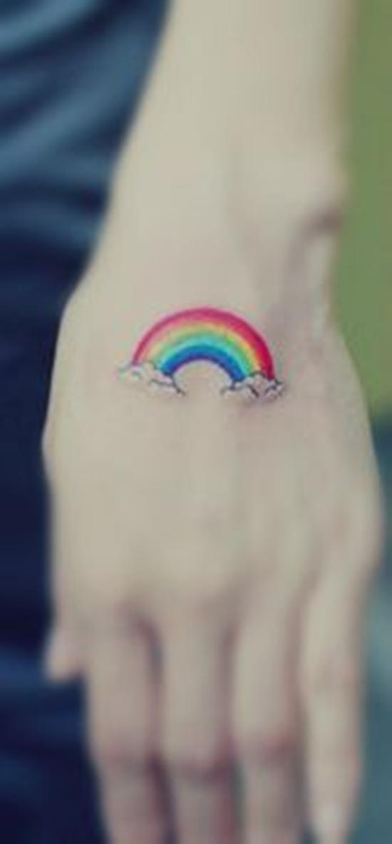 rain bow tattoo (15)