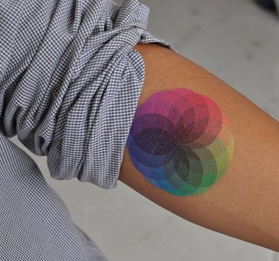 rain bow tattoo (6)