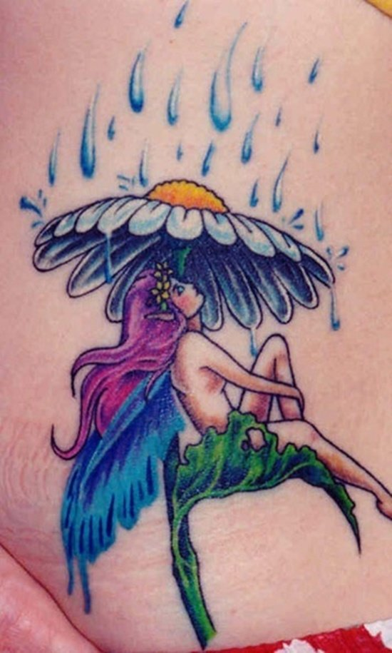 30 beautiful rain tattoo designs. Black Bedroom Furniture Sets. Home Design Ideas