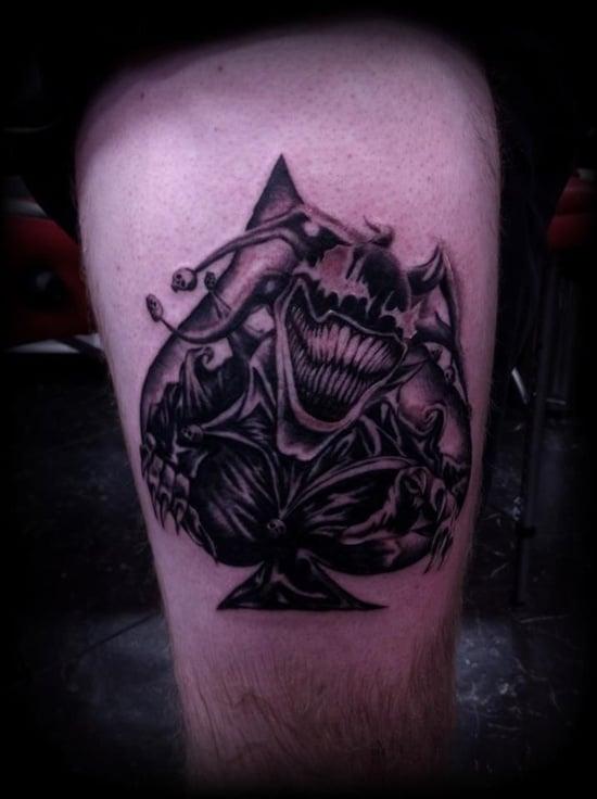 Spade Tattoo (2)