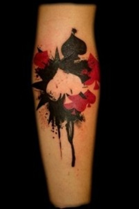 Spade Tattoo
