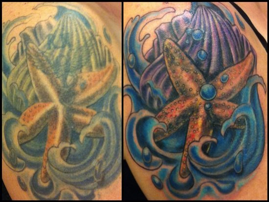 Starfish Tattoo (23)