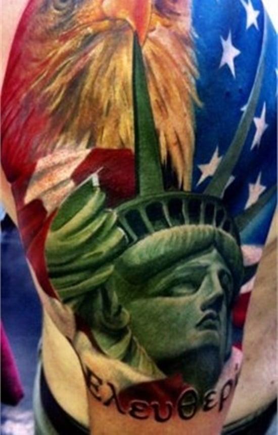 statue of liberty tattoo (1)