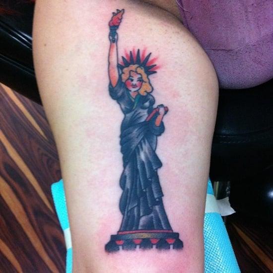 statue of liberty tattoo (10)
