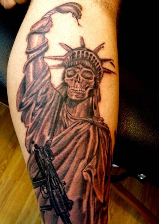 statue of liberty tattoo (20)