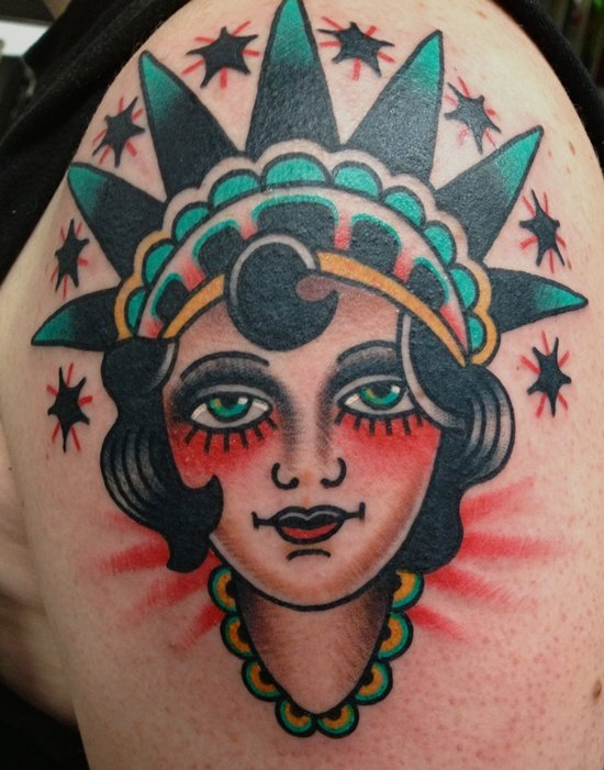 Pics Photos - Statue Of Liberty Tattoo Best Tattoos Best Tattoo ...
