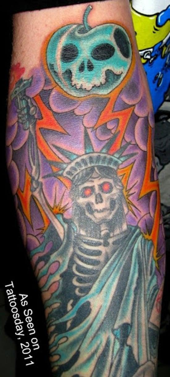 statue of liberty tattoo (23)