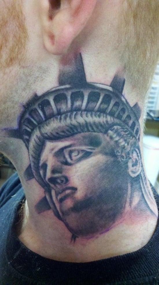 statue of liberty tattoo (27)