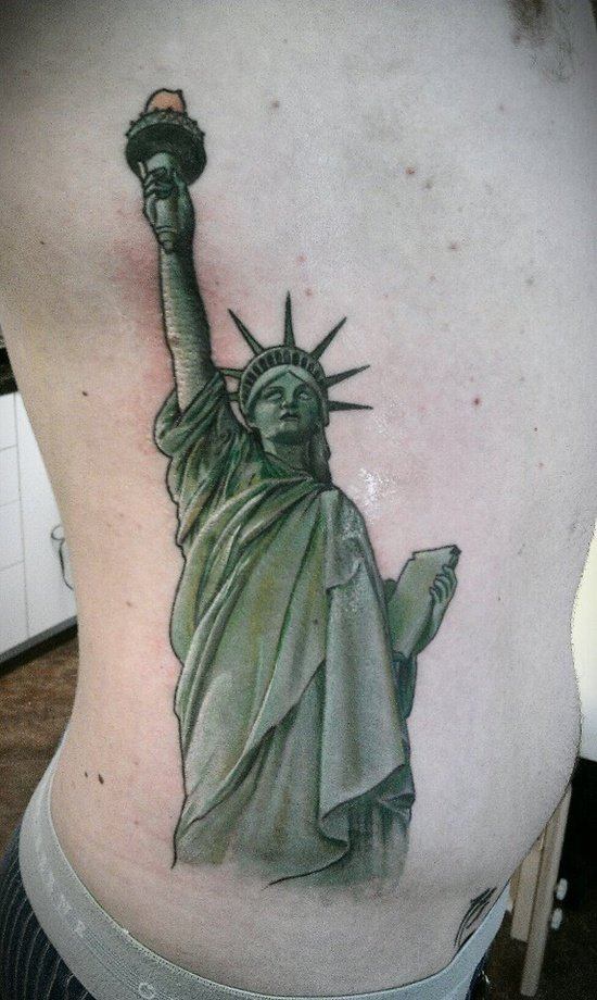 statue of liberty tattoo (28)