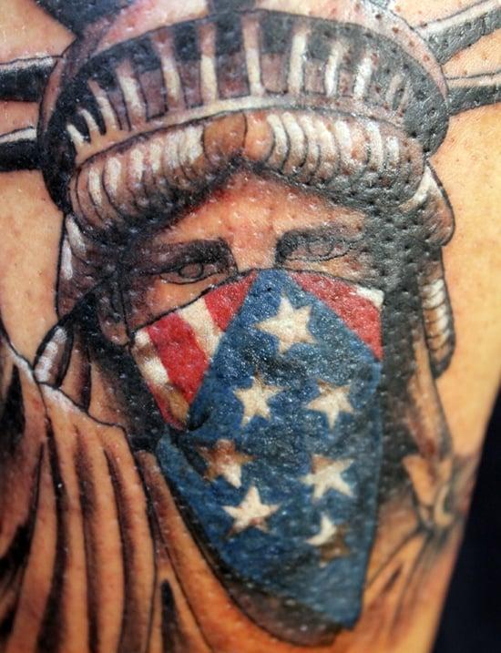 statue of liberty tattoo (29)