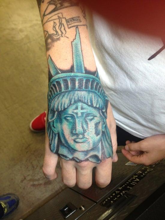 statue of liberty tattoo (30)