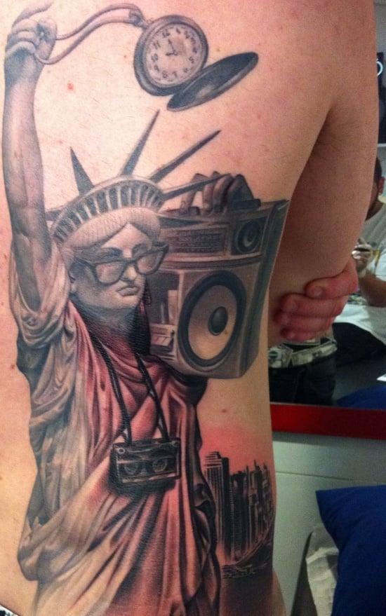 statue of liberty tattoo (6)