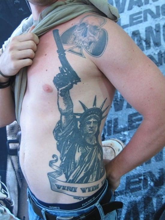 statue of liberty tattoo (7)