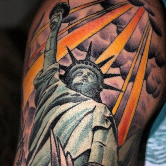 statue of liberty tattoo (9)