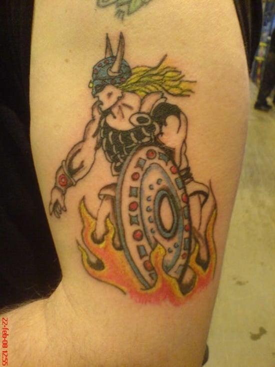 warriors tattoo (15)