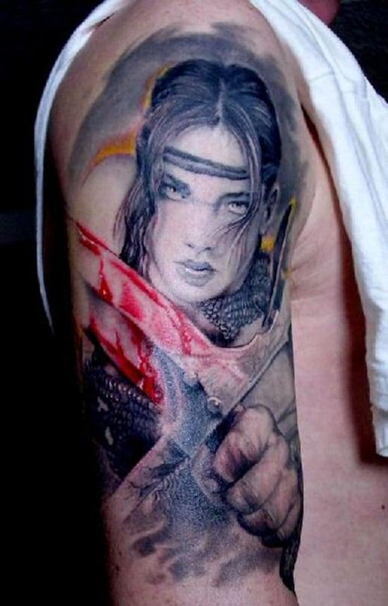 warriors tattoo (18)