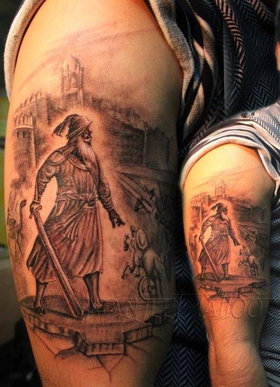 warriors tattoo (2)