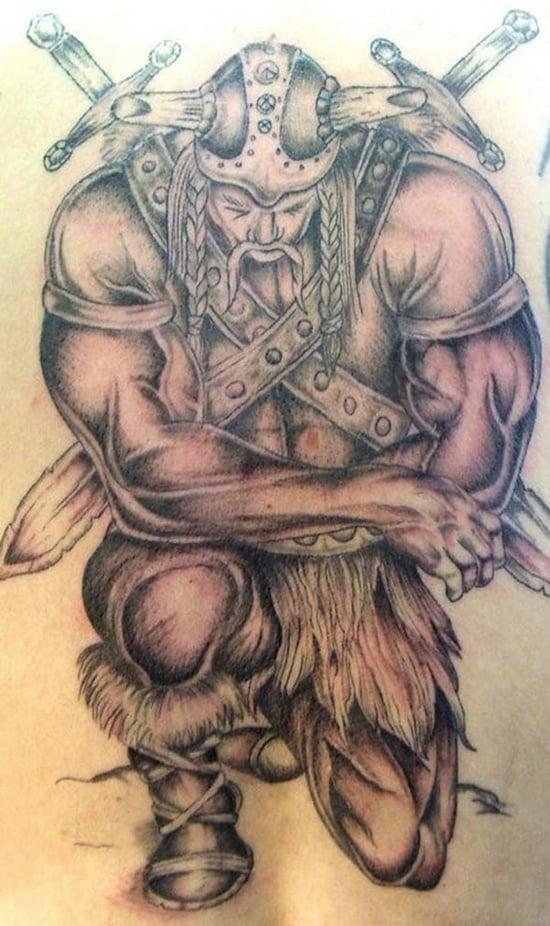 warriors tattoo (22)